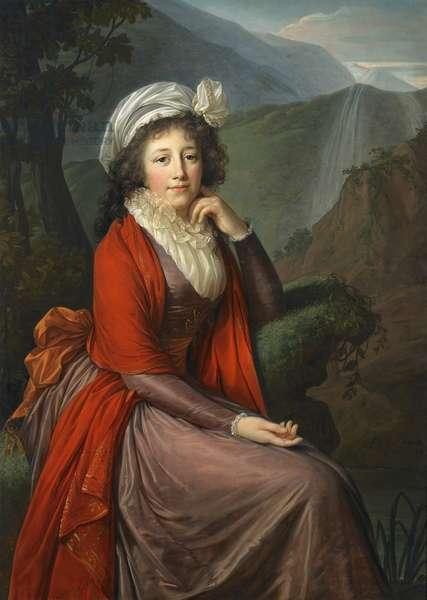 Portrait of Countess Maria Theresia Bucquoi, 1793 (oil on canvas)