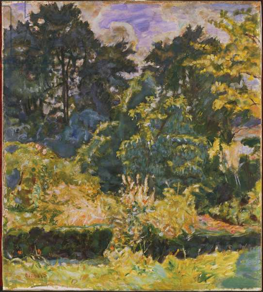 Woods in Summer, 1927 (oil on canvas)