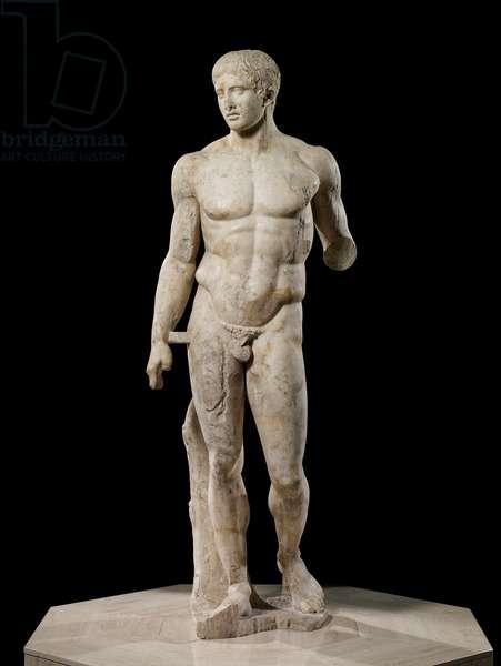 The Doryphoros, 120–50 BC (Pentelic marble)
