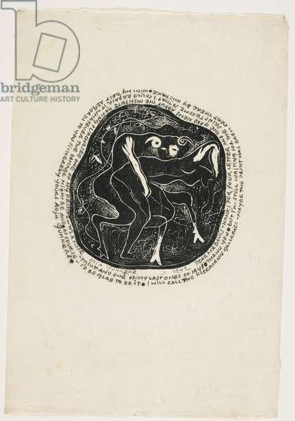 Centaur & Woman, 1942