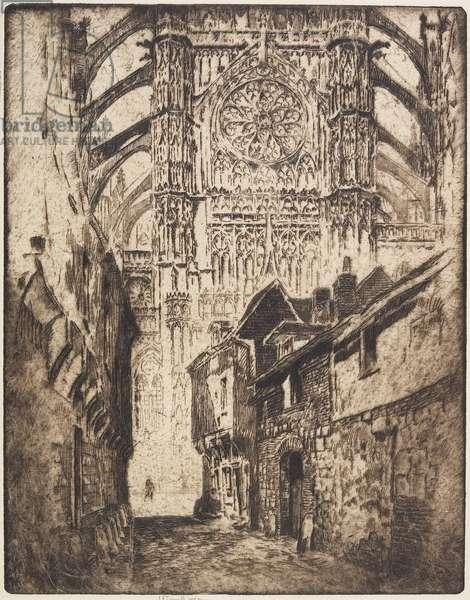 Rose Window, Beauvais, 1907