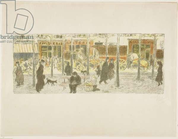 Boulevard, 1899