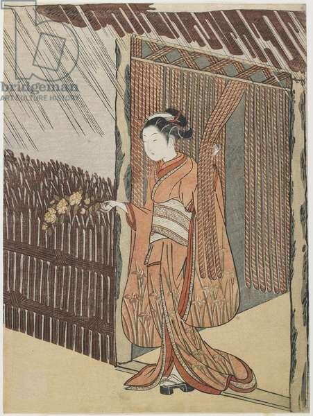 Mitate of the Poet O_ta Do_kan, 1766-1767