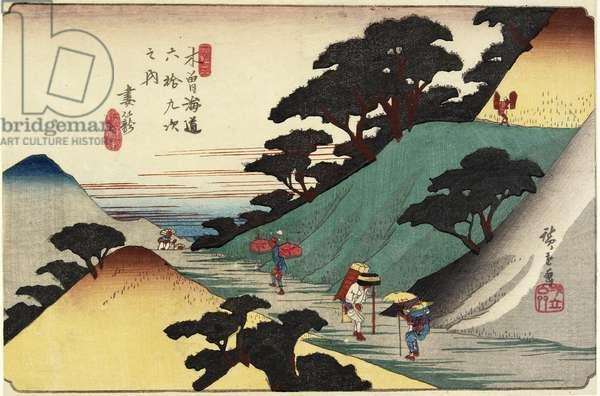 No.43 Tsumago, 1830-1844