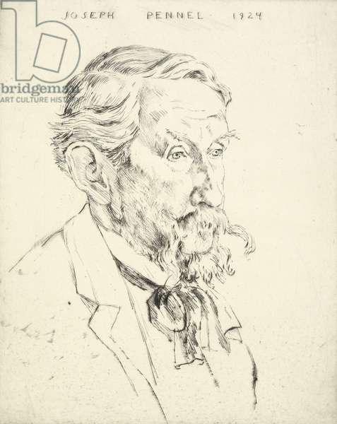 Portrait of Joseph Pennell, 1924