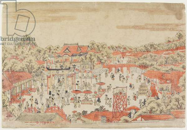 (Scene in a Shrine Ground), c. 1764-1782