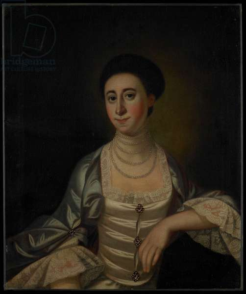 Portrait of Marcy Olney, c.1771 (oil on canvas)