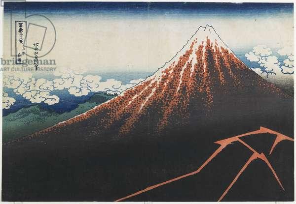 """Rainstorm beneath the Summit"", 1831-1834"