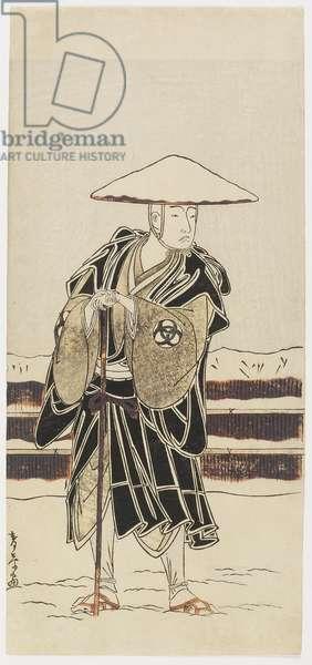 Bando_ Mitsugoro_ as Tokiyori, 1773