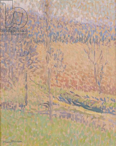 In the Mist, c.1890-1910 (oil on canvas)