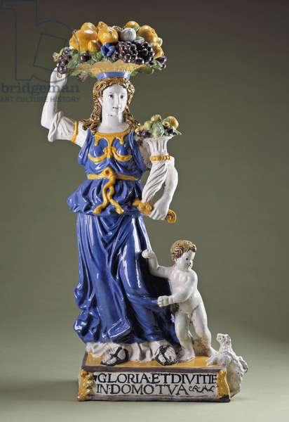 Dovizia (glazed terracotta)