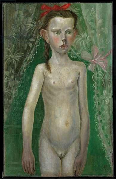 Little Girl, 1922 (oil on canvas)