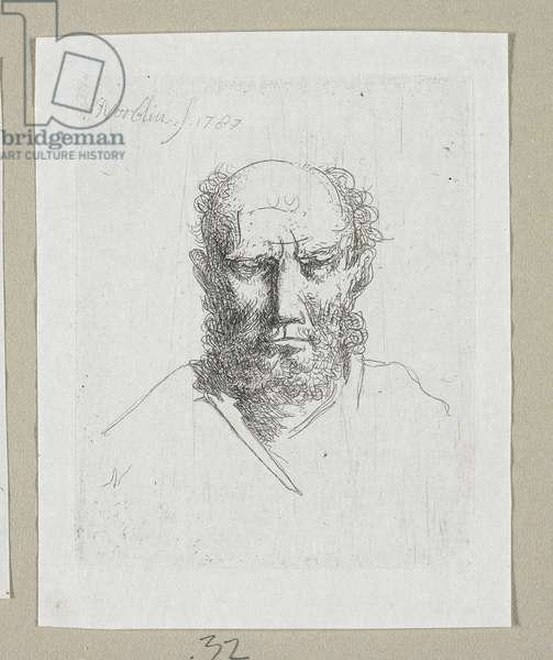 Head of Old Man, 1787