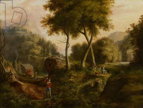 Landscape, 1825 (oil on canvas)