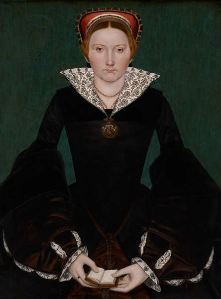 Portrait of a noblewoman, c.1550 (oil on panel)