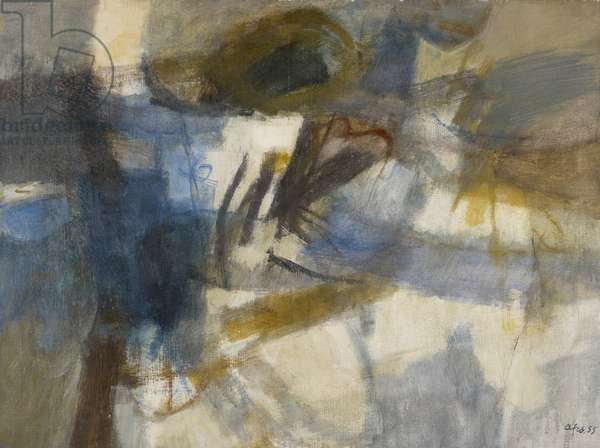 Landscape (Abstraction) 1955 (oil on canvas)