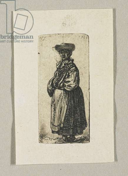 """""""Jewish Person with Apron"""", 1780"""