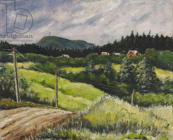 Mount Maude, c.1942 (oil on canvas)