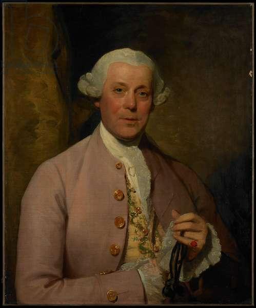 Portrait of Henry Lambert, c.1780-81 (oil on canvas)