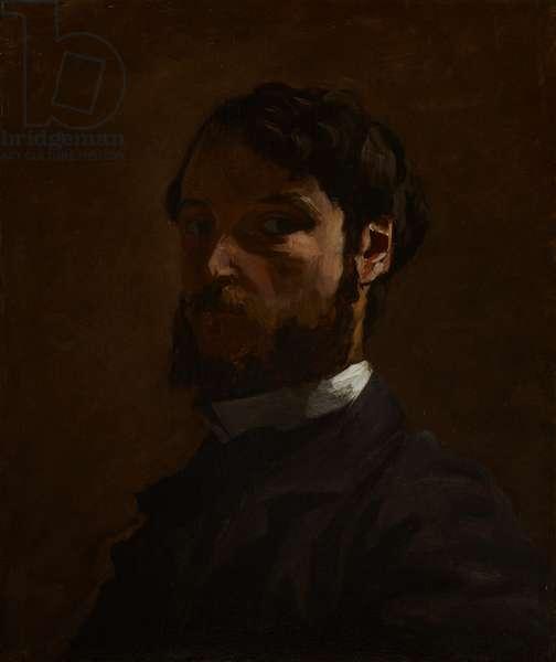 Self portrait, 1867-68 (oil on canvas)