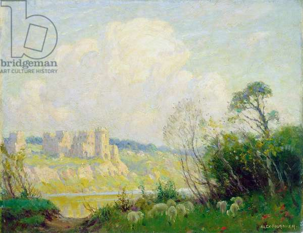 Ruins in Old Normandy, c.1905 (oil on canvas)
