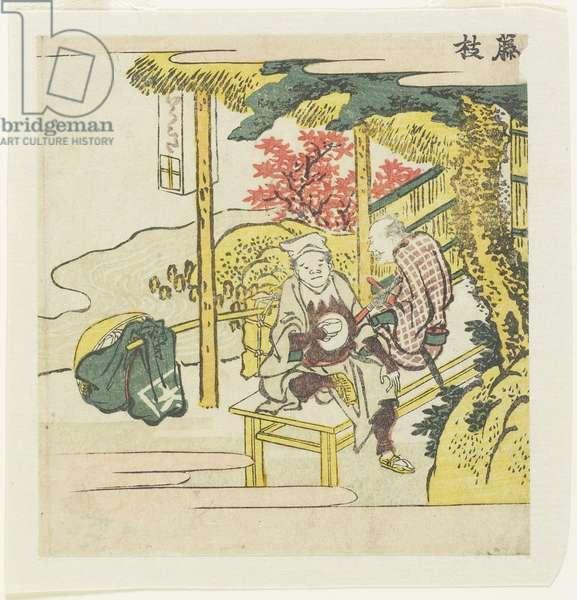 Fujieda, c. 1804
