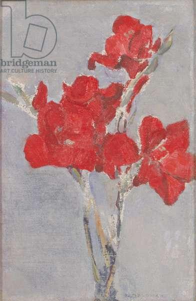 Red Gladioli, c.1906 (oil on canvas)