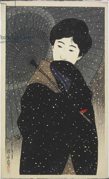 Snowy Night, January 1923