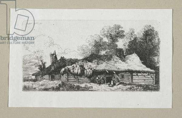 Landscape with Polish Farmstead, 1777
