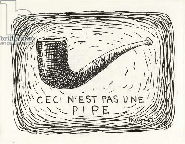Ceci n'est pas une pipe (This is not a Pipe), 1962