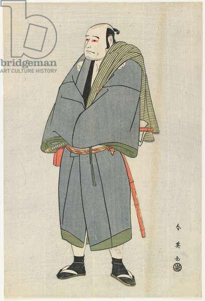 Arashi Ryu_zo as Heiemon, 1795 (colour woodblock print)