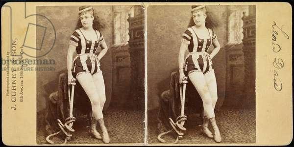 Leona Dare, 1869-74 (albumen print)