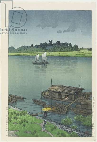 May Day Rain at Arakawa River, June 1932