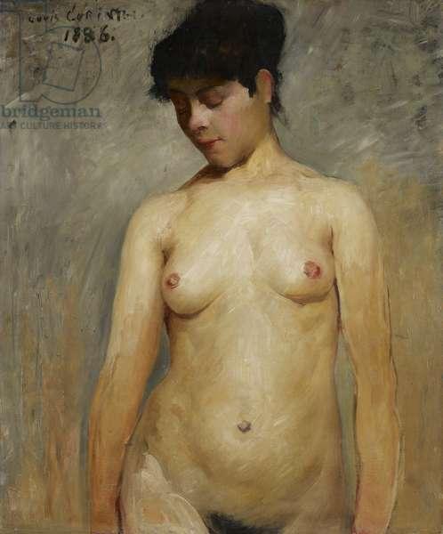 Nude Girl, 1886 (oil on canvas)