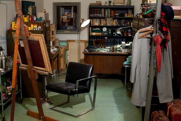 Curator's Office, 2012-13 (mixed media installation) (see also 3703602-19)