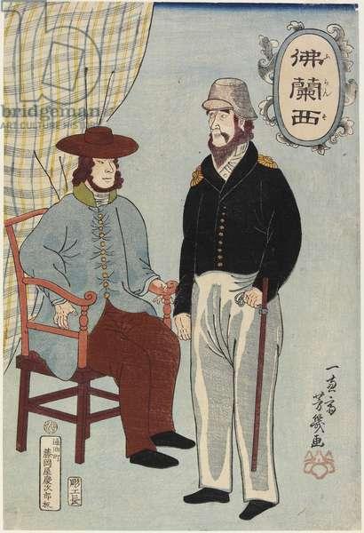 Frenchmen, January 1861