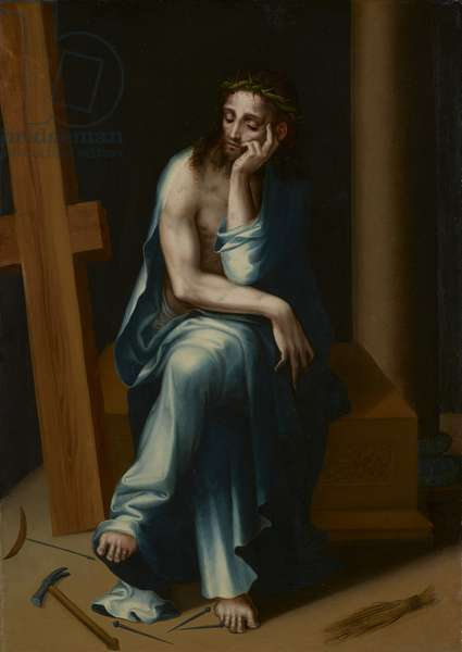 Man of Sorrows, c.1560 (oil on panel)