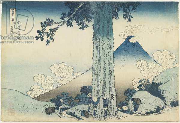 """Mishima Pass in Ko_shu_ Province"", 1831-1834"