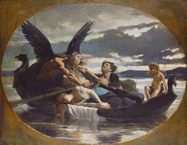 Love Dies in Time, 1872 (oil on canvas)