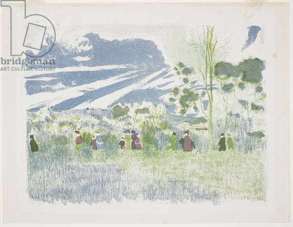 A travers champs, 1899