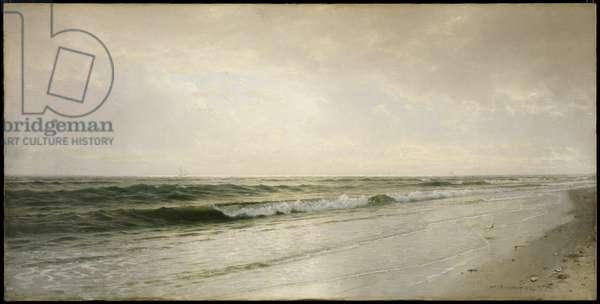 Quiet Seascape, 1883 (oil on canvas)