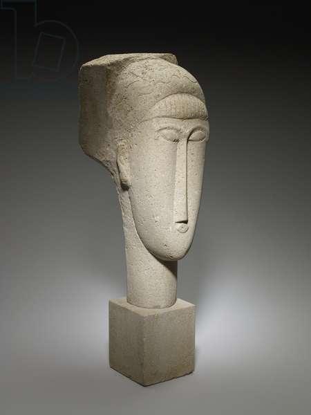 Head, 1911-12 (limestone)