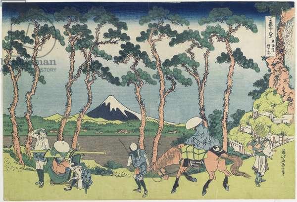 """""""Hodogaya on the To_kaido_ Road"""", 1831-1834"""