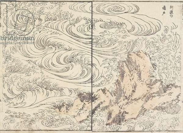 Whirlpool at Awa, 1817