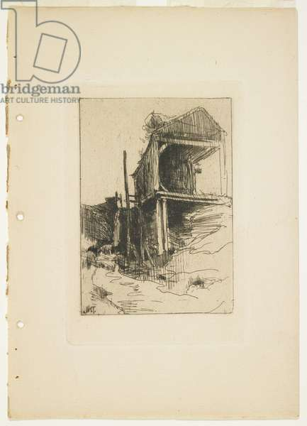 The Abandoned Mill, 1888-1889
