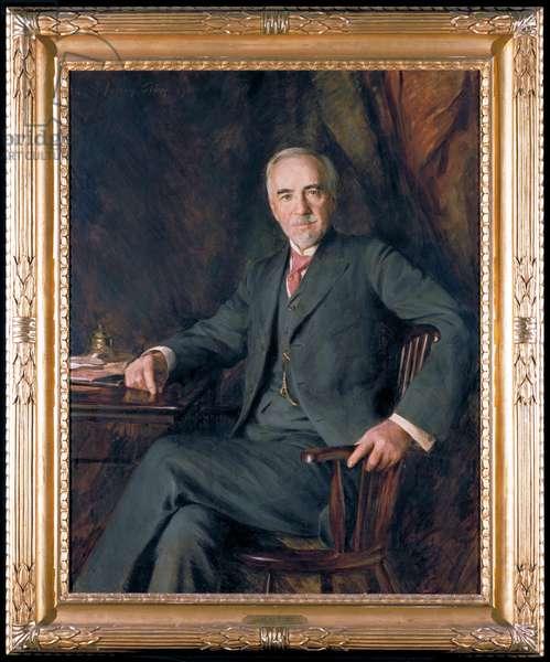 Portrait of William Hood Dunwoody, 1911 (oil on canvas)