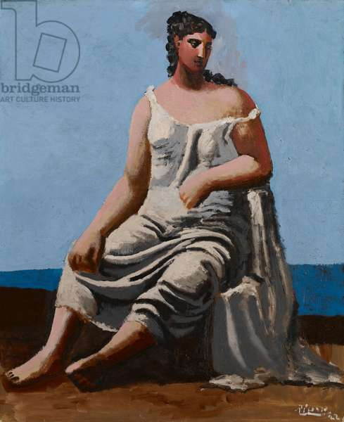 Woman by the Sea, 1922 (oil on canvas)