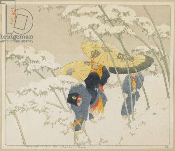 Bamboo Road, 1912 (colour woodcut)