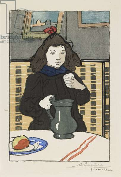 Young Girl with a Pitcher, 1890
