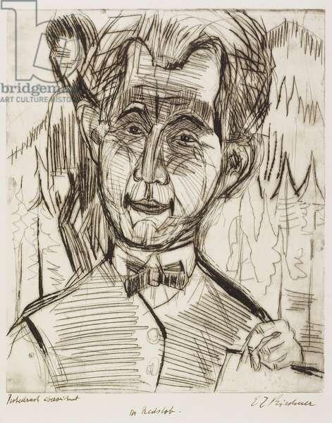Portrait of Dr. Redslob, 1924